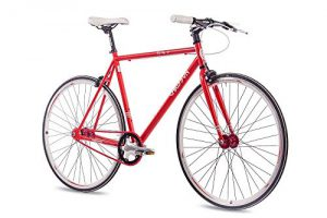 Fixie Bike Chrisson FG Flat 1.0 rot Singlespeed