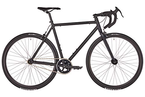 Singlespeed FIXIE Inc. Floater Race black schwarz