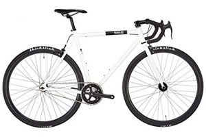 Fixie Bike FIXIE Inc. Floater Race white Singlespeed weiß