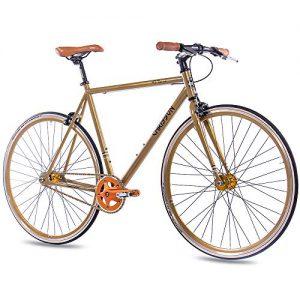 inglespeed Chrisson FG Flat 1.0 Gold Fixie