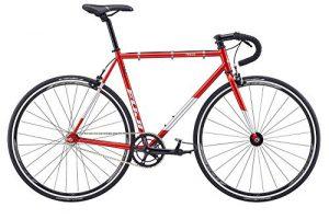 Singlespeed Fuji Track rot Fixie red
