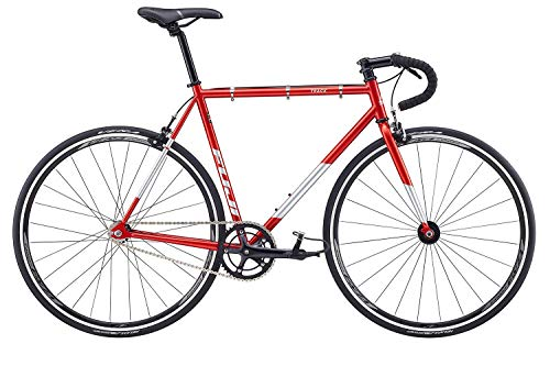Singlespeed Fuji Track rot Fixie red