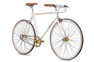 Fixie Bike Chrisson Vintage 2G Creme Singlespeed