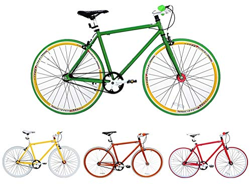 Fixie Bike Micargi grün Singlespeed green