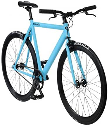 Fixie Bike Bonvelo Blizz blau Singlespeed blue