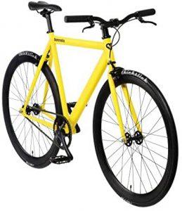 Fixed Gear Bike Bonvelo Blizz gelb Singlespeed yellow