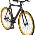 Urban Bike Bonvelo Blizz schwarz Singlespeed black