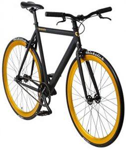Urban Bike Bonvelo Blizz schwarz Singlespeed black