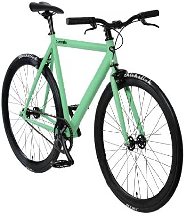 Singlespeed Bonvelo Blizz grün Fixie Bike green