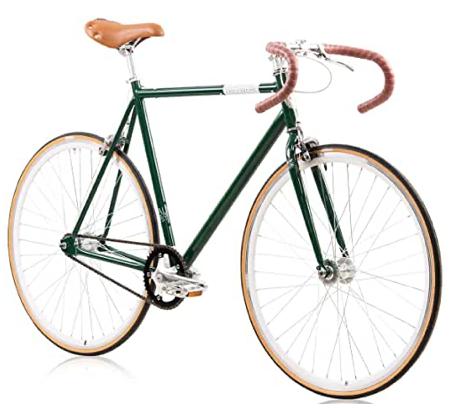 Fixie Bike Tretwerk Alma grün Singlespeed